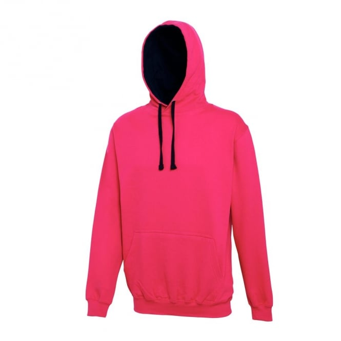 Hot pink-french navy