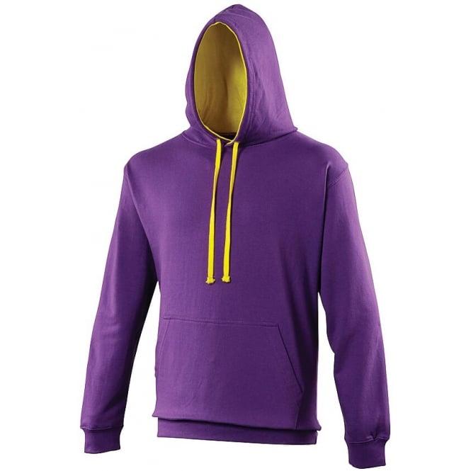 Purple-sunshine yellow